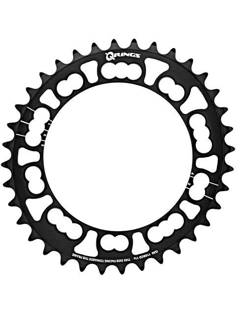 Rotor Q-Ring Road Zębatka rowerowa 110mm 5-ramienna wew. czarny